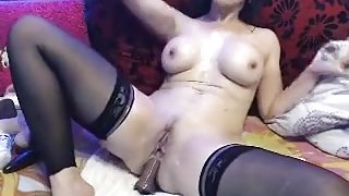 amazing amateur record with burnette big tits scenes