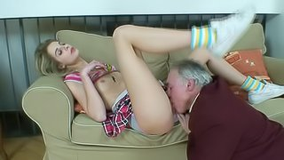 hot ass and pink shaved pussy
